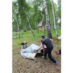 Сборка/разборка палатки